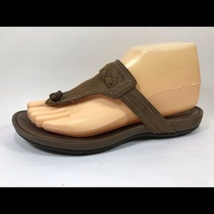 Timberland Earthkeepers Leather Thong Sandals 7.5